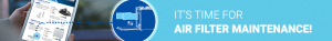 Air filter maintenance