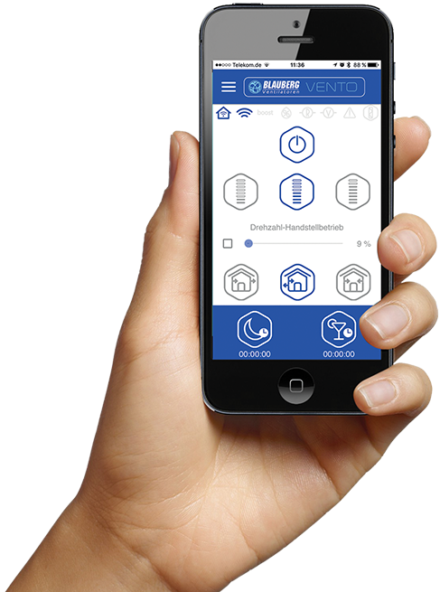 Blauberg App Vento Expert Wifi